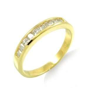 14k Yellow Gold Anniversary Ring (1.25 Carat) Jewelers Mart Jewelry
