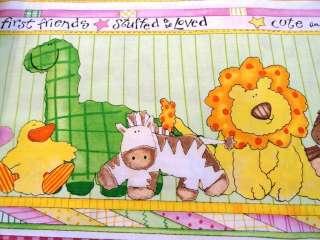 New Animals Fabric BY oys BFF Babies Firs Friend Dinosaur Frog Bear