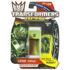 TRANSFORMERS RPMs Combat Series 04 OF 04   LONG HAUL