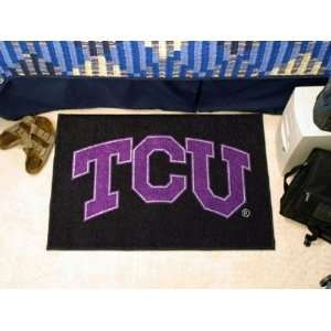 Texas Christian TCU Horned Frogs Starter Rug/Carpet Welcome