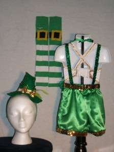 National Pageant OOAK St Patricks Day Casual Wear Sz 6/8 Lots of