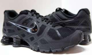 NIKE SHOX Turbo 12 + Men Shoes Sz 8 ~ 15 #454166 001 Blk
