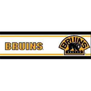 NHL Boston Bruins   Boys Hockey Decor Wallpaper Border