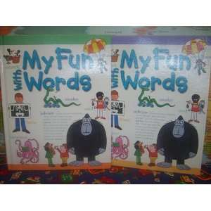 My Fun With Words Dictionary 2 Volumes Set Books