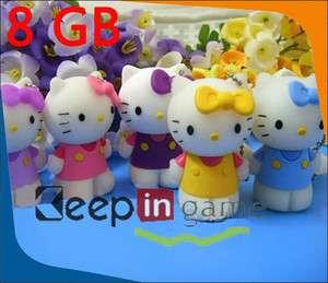 8GB Hello Kitty USB 2.0 Flash Memory Stick Drive Pen 8G