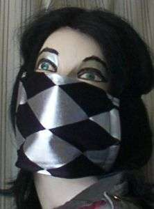 Punk Visual Kei jrock cosplay Face Mask