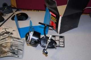 NEW NEVER USED GARCIA MITCHELL MODEL 300 SPINNING REEL W/ ORIGINAL BOX