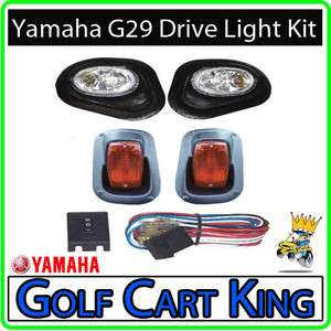Yamaha G29 Drive Golf Cart Headlight   Tail Light Kit