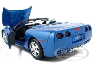 brand new 1 24 scale diecast model of chevrolet corvette c5