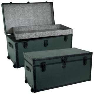 Garrison Trunk   Olive Green Storage & Organization