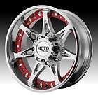 20 inch 20X9 Moto Metal chrome wheels rims 5X150 +18 / TOYOTA TUNDRA