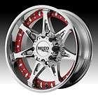 20 inch 20X9 Moto Metal chrome wheels rims 5X150 +18 / TOYOTA TUNDRA