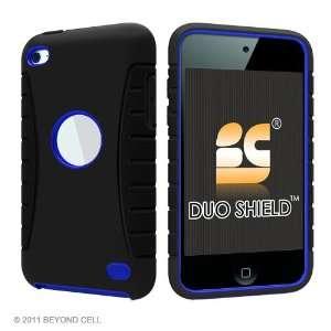 Duo Shield Durable Dual Layer Protex Case   Black / Blue