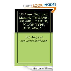 US Army, Technical Manual, TM 5 3805 255 20P, LOADER, SCOOP TYPE, DED