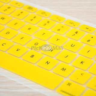 Silicone Keyboard Cover Skin Protector for All Macbook Pro 13 15 17