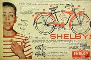 Airflo Super De Luxe Bicycle~AMF Boys Kids Bike Christmas Promo Ad