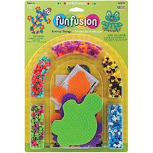 Perler Fuse Bead Activity Kit Fun Fusion/Swamp Thangs  For the Home