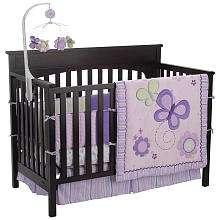 Just Born Plum 8 Piece Crib Bedding Set   Just Born   Babies R Us