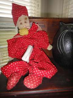 HANDMADE CLOWN SOCK STUFFED DOLL TOY owned by Edward Michael Goffrey