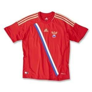 adidas Youth Climacool Russia Home Jersey Red/Gold/Small