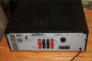 AU G77XII 110wpc Stereo Integrated Amplifier for Parts/Repair