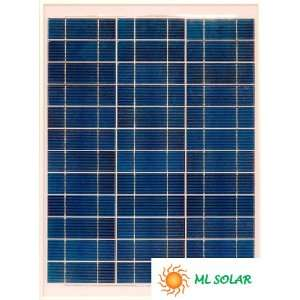 40W Solar Panel Made with A Grade Solar Cells Patio, Lawn