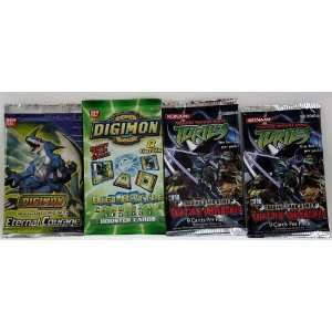 Digimon and Teenage Mutant Ninja Turtles Trading Card Game