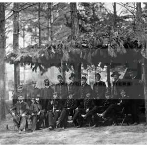 1864 American Civil War Union Soldiers [20 x 20 Photograph