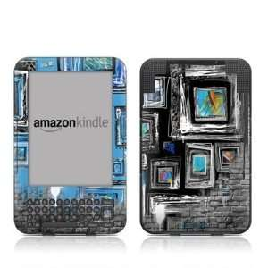 Walls Design Protective Decal Skin Sticker for  Kindle Keyboard
