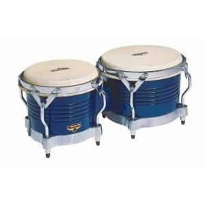 LP Matador Bongos Blue Wood Chrm Musical Instruments
