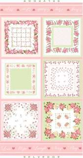 Faye Burgos Love & Inspiration Hanky Hankerchief Panel