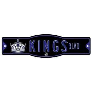 Los Angeles Kings Street Sign