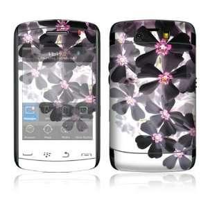 BlackBerry Storm 2 (9550) Skin Decal Sticker   Asian Flower Paint