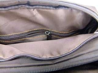 Dakar Mens casual high quality terylene shoulder bag Brown fashion