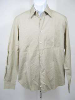 MIU MIU Mens Khaki Button Down Shirt Sz 39