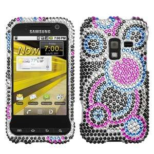 Samsung Galaxy Attain 4G Crystal BLING Hard Case Phone Cover Bubble