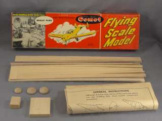 DTD   COMET R8 FLYING SCALE MODEL AIRPLANE BALSA KIT   ERCOUPE