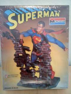 1978 Monogram Superman Model Kit #6301