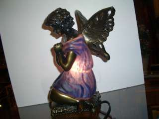 PRAYING ANGEL LAMP NIGHT LIGHT