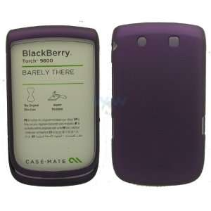 BlackBerry Torch 9800 Barely There Case Purple Cell