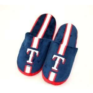 Texas Rangers Mens Slippers House Shoes: Sports & Outdoors