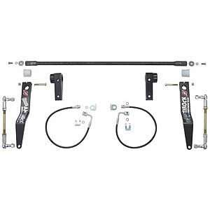 Currie Enterprises CE 9900JKFA AntiRock Front Sway Bar Kit With Billet