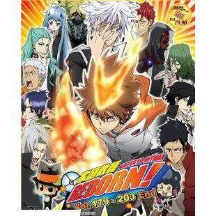 Katekyo Hitman Reborn   Complete TV Series DVD 5 Box Set (1 203