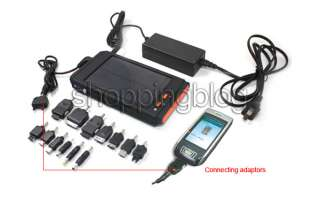 16000mAh High Capacity Solar battery Charger for Laptop Phone + LED
