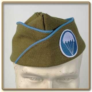 WW2 US Army EMs mustrad Wool Garrison Cap Infantry