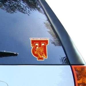Tuskegee Golden Tigers 4 x 4 Team Logo Car Decal