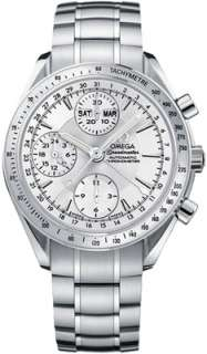 NEW Omega 3221.30 Speedmaster Chronograph Day Date Mens Watch 3221.30