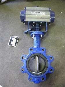 Bi Torq Butterfly Valve w/ Pneumatic Actuator PN85DA 150 PSI