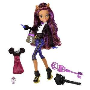 MONSTER HIGH SWEET 1600 DOLL,FRANKIE STEIN,CLAWD WOLF,DRACULARA
