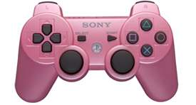Official Sony Pink Dualshock 3 Playstation 3 PS3 Wireless Controller